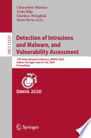 Detection of Intrusions and Malware  and Vulnerability Assessment