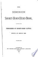 Canadian Shorthorn Herd Book