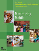 Pdf Information and Communications for Development 2012 Telecharger