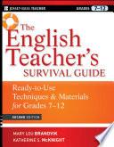 The English Teacher s Survival Guide