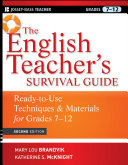 The English Teacher's Survival Guide: Ready-To-Use Techniques and ...