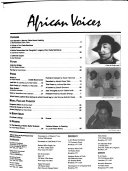 African Voices Book