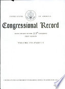Congressional Record, Daily Digest of the 113th Congress, First Session Volume 159 - Part 15