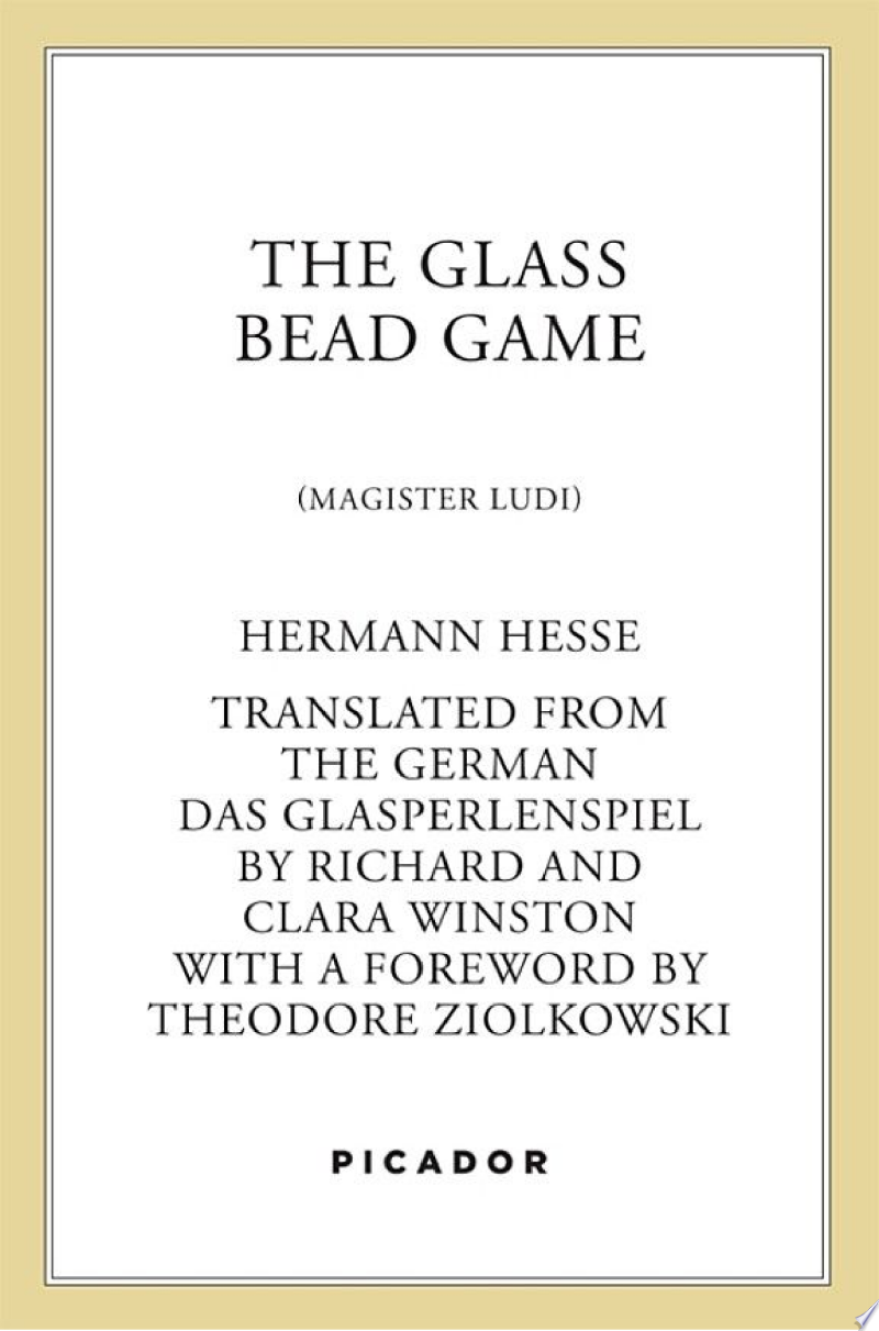 The Glass Bead Game image
