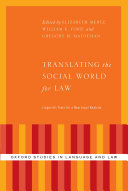 Translating the Social World for Law