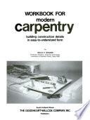 Workbook for Modern Carpentry