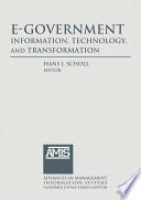 E Government Information Technology And Transformation