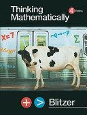 Thinking Mathematically Plus MyMathLab Student Access Kit