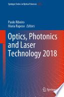 Optics  Photonics and Laser Technology 2018
