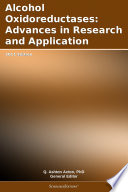 Alcohol Oxidoreductases  Advances in Research and Application  2011 Edition