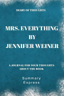 Mrs Everything Pdf [Pdf/ePub] eBook