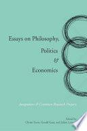 Essays on Philosophy, Politics & Economics
