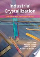 Industrial Crystallization Book