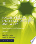 Nanotechnology Environmental Health And Safety Book PDF