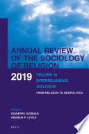 Volume 10 Interreligious Dialogue
