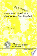 Stratigraphic Analysis of a Deep Ice Core from Greenland