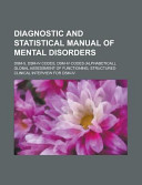 Diagnostic And Statistical Manual Of Mental Disorders Book