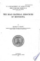 The Road Material Resources of Minnesota