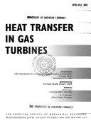 Heat Transfer in Gas Turbines