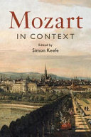 link to Mozart in Context in the TCC library catalog