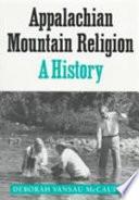 Appalachian Mountain Religion
