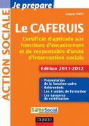Pdf Je prépare le CAFERUIS - Edition 2011-2012 Telecharger