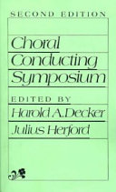 Choral Conducting Symposium