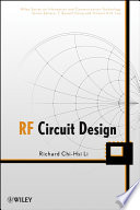 RF Circuit Design Book