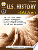 U S  History Quick Starts Workbook Book