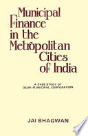 Municipal Finance in the Metropolitan Cities of India