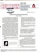 Bulletin on the Rheumatic Diseases Book