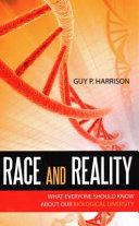 Race and Reality Book