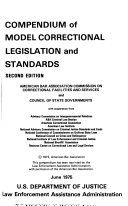 Compendium of Model Correctional Legislation and Standards