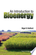 An Introduction to Bioenergy Book