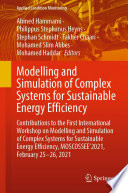 Modelling and Simulation of Complex Systems for Sustainable Energy Efficiency