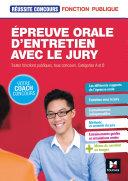 Pdf Réussite Concours - Épreuve orale d'entretien avec le jury - Toutes fonct publiq, cat A et B - Epub Telecharger