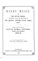 Pdf Hindu Music and the Gayan Samaj
