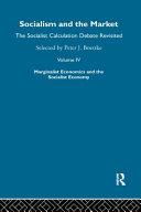Socialism and the Market: Marginalist economics and the socialist economy