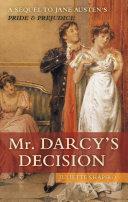 Pdf Mr. Darcy's Decision