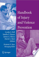 Handbook of Injury and Violence Prevention Book