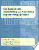 Fundamentals Of Modeling And Analyzing Engineering Systems Book PDF