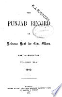 The Punjab Record