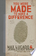 You Were Made To Make A Difference Book PDF