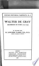 Walter de Gray