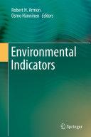 Environmental Indicators [Pdf/ePub] eBook