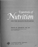 Essentials of Nutrition for the Health Professions