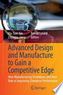 Advanced Design And Manufacture To Gain A Competitive Edge Book PDF