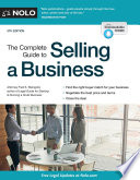 The Complete Guide to Selling a Business Book