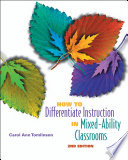 How to Differentiate Instruction in Mixed Ability Classrooms  2nd Edition
