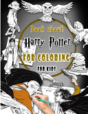 Book about Harry Potter for Coloring for Kids